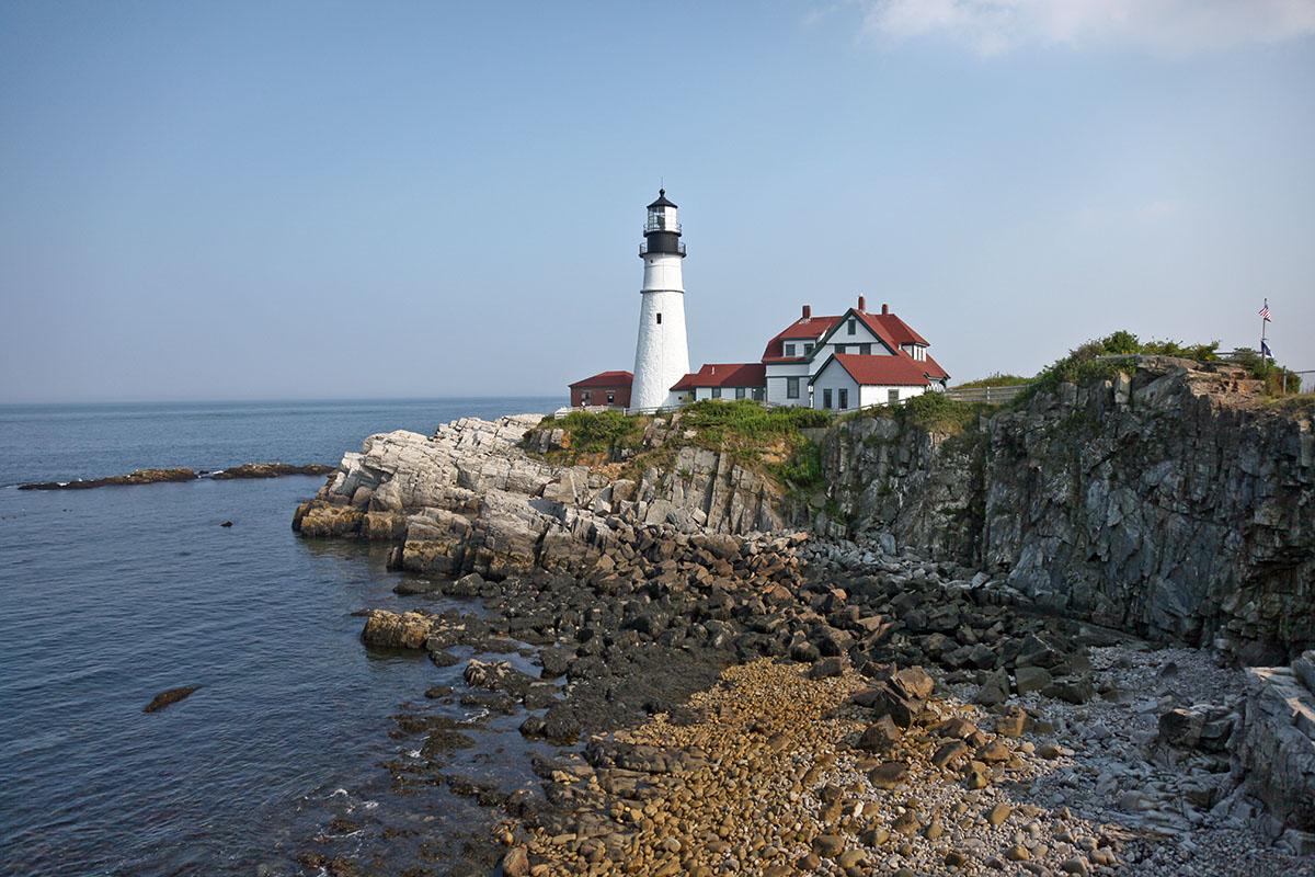 Maine: Portland head lighthouse