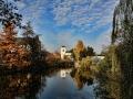Herbstsonne in Leipzig Knauthain