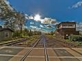 Knautkleeberg Bahnübergang