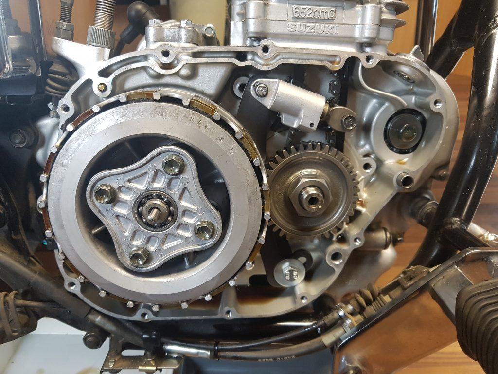 Savage Motor ohne Getriebeseitendeckel, mit verbautem TBKS