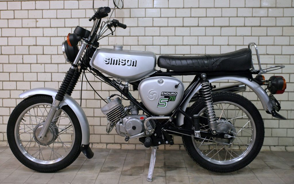 Simson S70 Enduro in Originalzustand