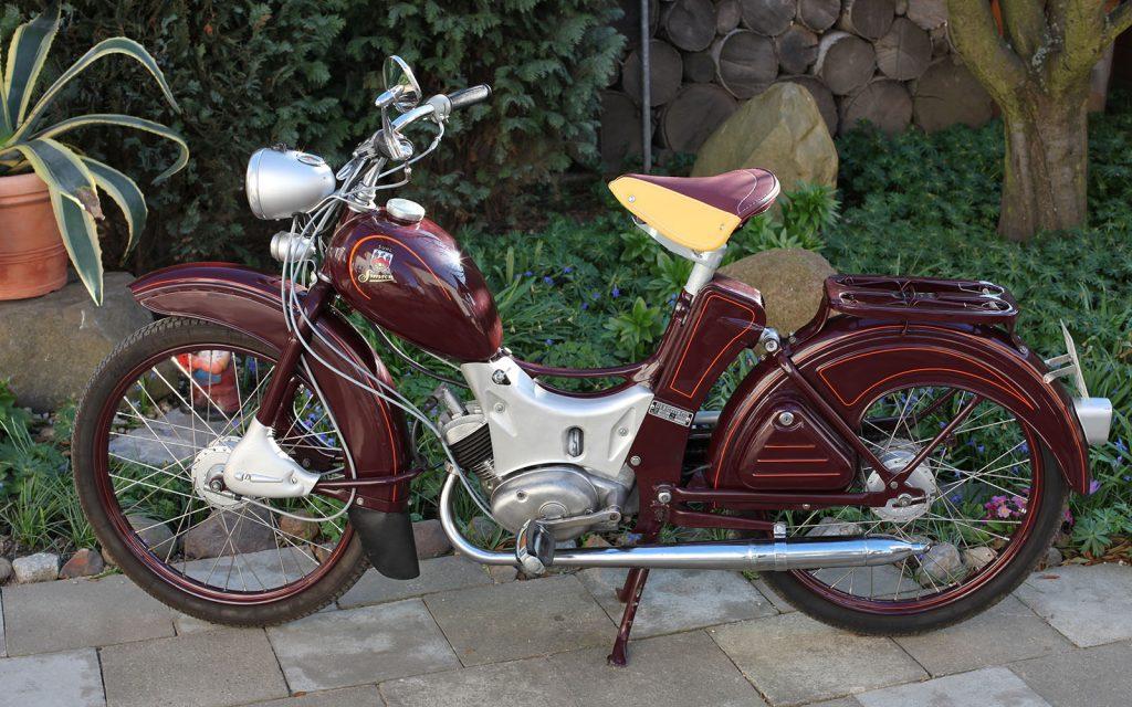 Simson SR2E aus 1961 in restauriertem Zustand